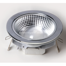 6w LED Downlight 3.5 inch Hole 105mm COB LED 260lm Aluminum heatsink AC90-260V multi-mirror reflector led ceiling light