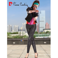 PIERRE CARDIN BASILICO LEATHER LOOKING WOMEN LEGGINGS