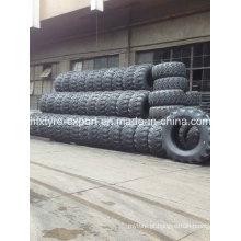Pneus para caminhões militares, 1600 X 600-685 pneumático diagonal com pneu de caminhão pesado, qualidade melhor para o mercado de Rússia