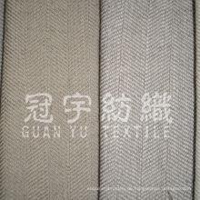 Robuster Stoff aus Polyester-Leinen für Vorhanganwendungen