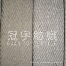 Polyester Linen Tough Fabric for Curtain Uses
