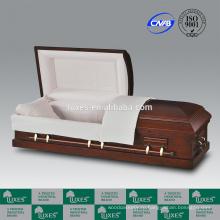 Китайская шкатулка компании люкс американского продаваемых похороны шкатулки