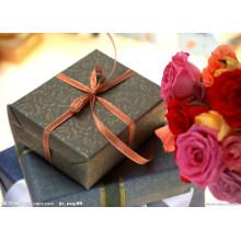 Caja de papel modificada para requisitos particulares OEM / caja de regalo / caja de papel de empaquetado acanalada