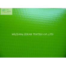 Tecido encerado do PVC tecido de poliéster para toldo/dossel