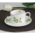 Porzellantasse & Untertasse, Kaffee / Tee-Set, 12er Tee-Set