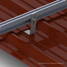 Système de support de panneau solaire de toit de tuile de toit de 25KW House