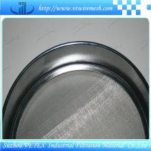 Peneira de teste padrão de aço inoxidável com relatório SGS