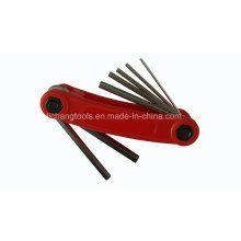 Hand Tool Hex Key Wrench Folding 7 PCS Sets