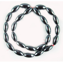 Hematite Rice Beads 8X12MM,Grade A&40CM