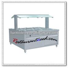 Equipamento de buffet elétrico de aço inoxidável estilo luxo C235