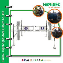 bi-directional supermarket intelligent automatic swing gate