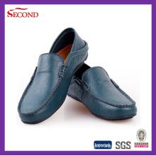 Dark Blue Men′s Office Shoes
