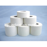 White Cotton Rigid Athletic Sports Strapping Tape