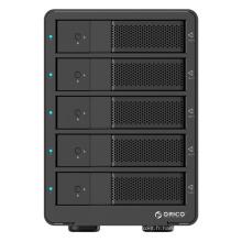 ORICO Aluminium 5 baies USB3.0 à SATA HDD Boîtier avec fonction RAID (9558RU3)