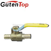 Válvula de esfera de latão / encaixe de latão pex / tubo de latão Conexões de compressão