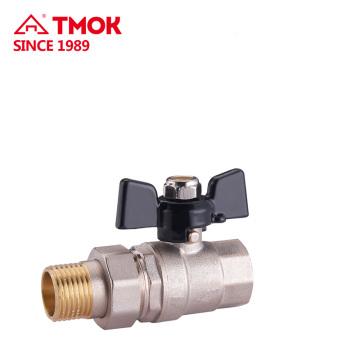 Good quality FxM thread brass ball valve Dn25
