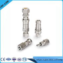 Conector rápido de aço inoxidável de 8mm 10mm 12mm de aço inoxidável