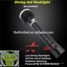 Jexree Multi-fonction 3x CREE XM-L2 lampe à LED Lumière de plongée led coon Chasse lumière