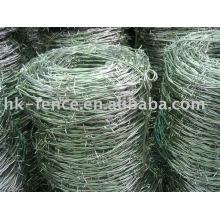 1 alambre de cercado galvanizado en caliente revestido del pvc