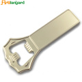 Zink Aloi Bottle Opener With Logo