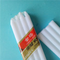 Cellophane Pack White Stick Candle Usage Quotidien