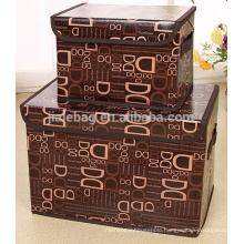 ECO friendly Large capacity foldable fabric storage box for home storage