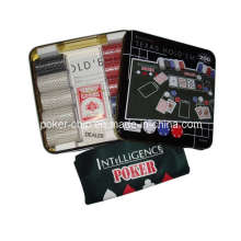 200PCS Texas Hold'em Chip Chip de Poker (SY-S36)