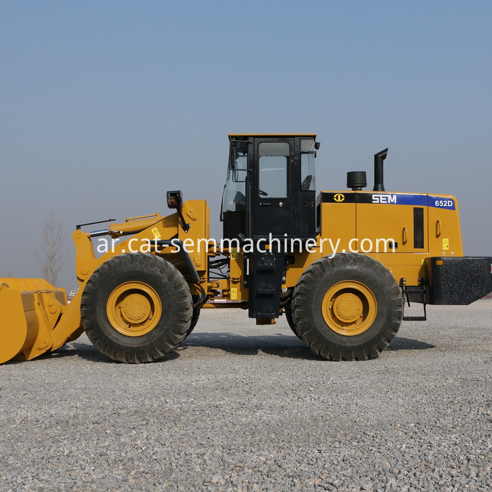 Sem 652d Wheel Loader 5