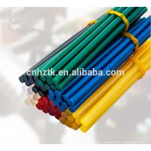 Palillo de pegamento de fusión en caliente colorido / pegamento de fusión en caliente para pistola de pegamento