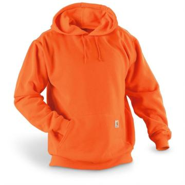 Full Zip Hoodie Sweatshirt with Slash Pockets