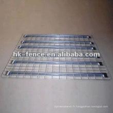 Decking galvanisé de fil