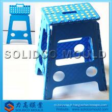Fabrication de moules de chaise pliante légère en plastique d'injection