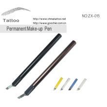 3D de cejas broche de maquillaje permanente manual tatuaje pluma