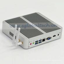 Eglobal 7. Gen-Mini-PC 7200e Windows 10 & Linux Kaby-See-Fanless 4k HD-Anzeige HTPC 300m WiFi-Rahmen