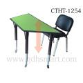 Manueller höhenverstellbarer Tisch mit Schraubenfüßen Tisch und Tisch verstellbar 4 Beine mit Schrauben