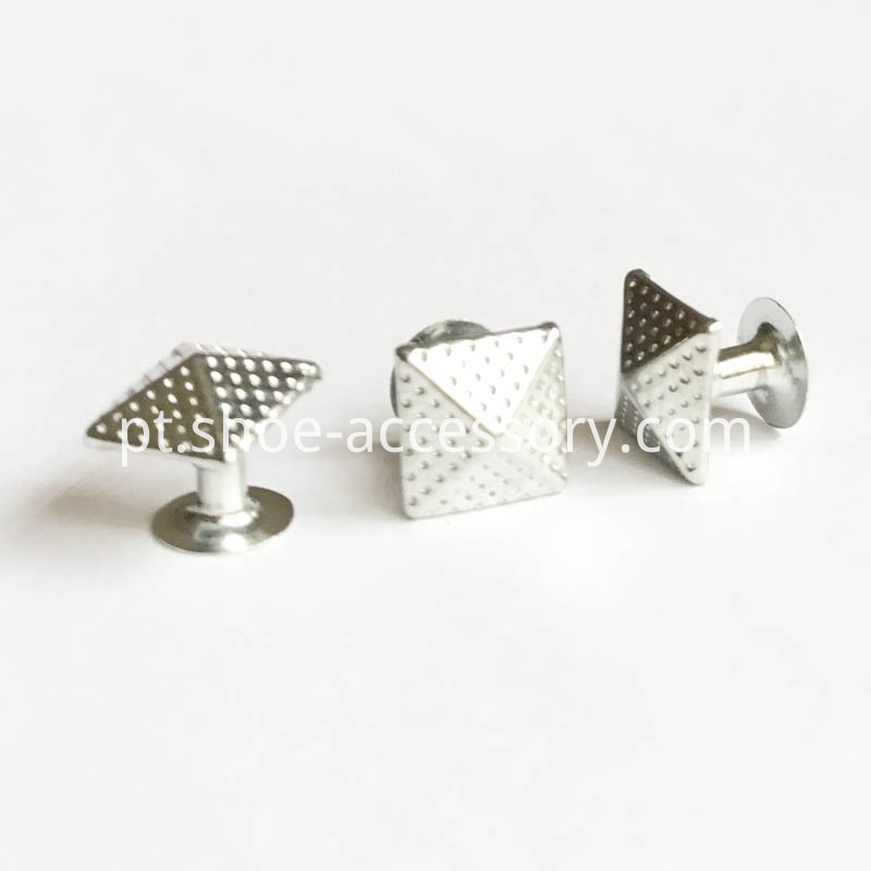 10mm Pyramid Rivets Dots Studs