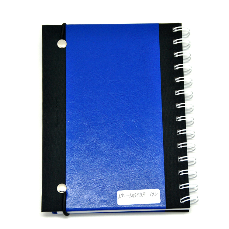 Kraft Notebook Calculator with Pen Attached