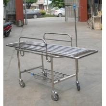 Trole de alumínio de dobramento da maca da ambulância do hospital