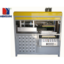 Recipiente plástico semi automático do biscoito que faz a máquina
