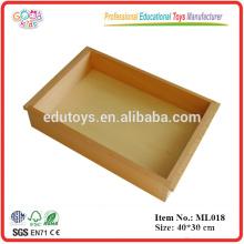 Montessori Materialien - Großes Tablett