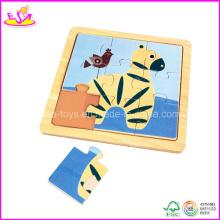 2014 puzzle en bois coloré et jouets en bois dans le prix de Lowesr (W14C062)