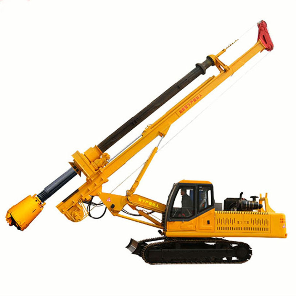 Excavator Mounted Pile Driver
