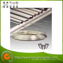 Titan-nahtloses Rohr ASTM B338 Gr1 Gr2