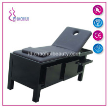 Solid Wooden Adjustable Height Shiatsu Massage Table