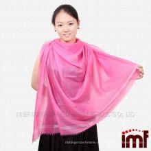 Тонкий платок из натурального кашемирового шарфа