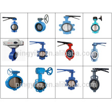 grey iron flange butterfly valve seat ring dn200