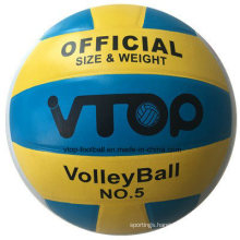 Three Color Rubber Material Volleyball