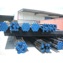 Cold Drawn Carbon Seamless Steel Tube Steel Pipe ASTM A106/A53 with Black Paint and Caps