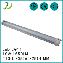 410mm 2G11 Tube ljus 18W