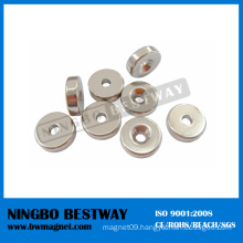 Neodymium Pot Magnet with Countersink CE/SGS Certified